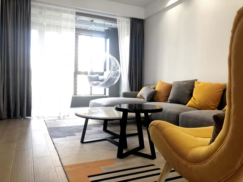 一套房子客厅现代简约客厅设计图片赏析