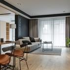 105平米二局现代简约——客厅图片