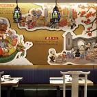 """餐饮空间设计:""""羊城记忆"""",岭南菜馆_3859607"""