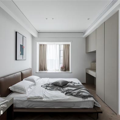 92平米现代简约卧室设计图