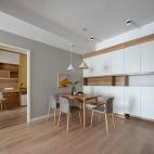 70平米現代簡約—餐廳設計圖