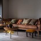 100平米潮流混搭客廳設計圖