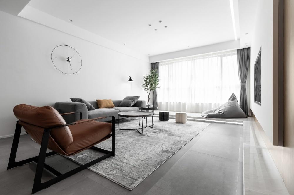 原木简约德景园客厅3图现代简约客厅设计图片赏析