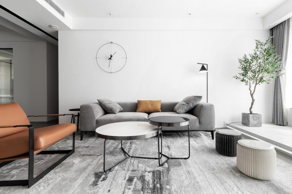 原木简约德景园客厅4图现代简约客厅设计图片赏析