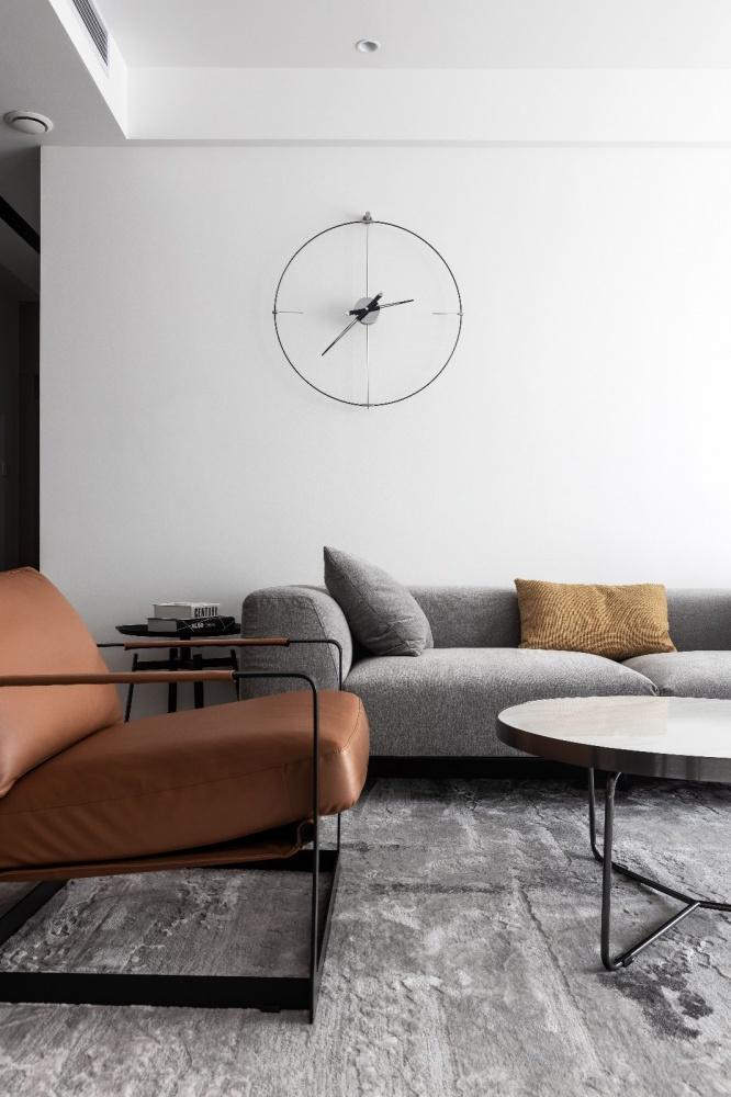 原木简约德景园客厅5图现代简约客厅设计图片赏析