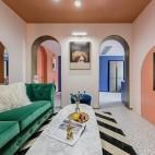 老破小變身時髦公寓,最「好色」屋主的家_3863035