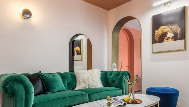 老破小变身时髦公寓,最「好色」屋主的家