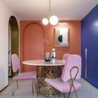 老破小變身時髦公寓——餐廳圖片