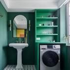 老破小變身時髦公寓——衛生間圖片