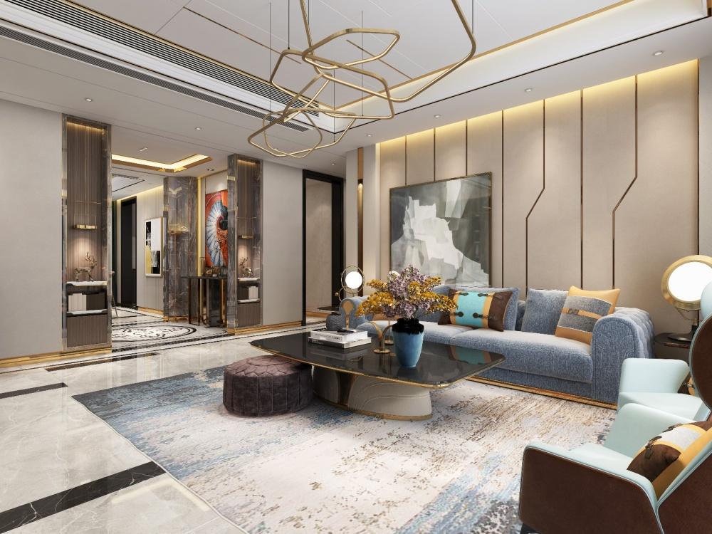 金科九号公馆(平层)客厅其他客厅设计图片赏析