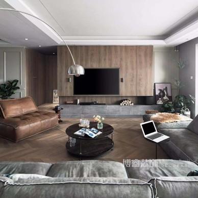 260平米现代简约:客厅图片
