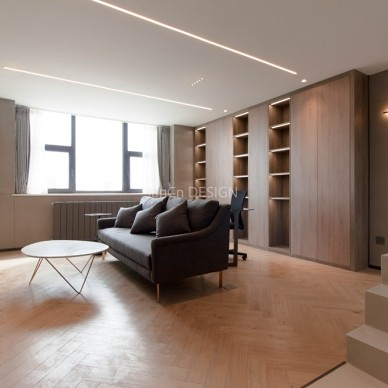 北京小户型公寓极简风格_3865530