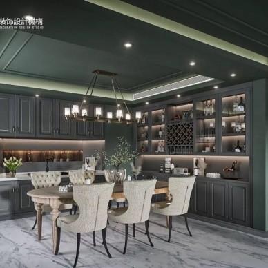 簡約美式別墅設計,復地·灣流匯_3866104