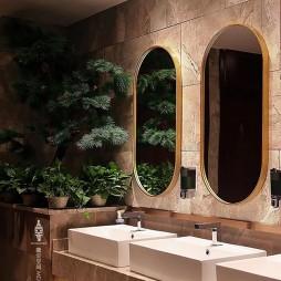 九品烤鸭 餐厅设计 微尘空间MDS作品——卫生间图片