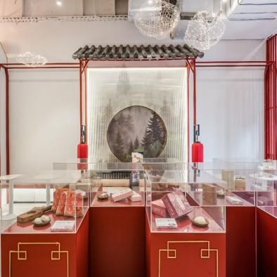 祥禾饽饽铺 | 打造传统糕点店铺新国风