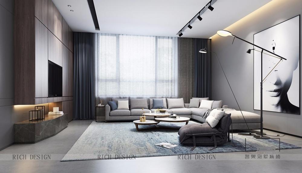 微妙的视觉顺德合德围客厅现代简约客厅设计图片赏析