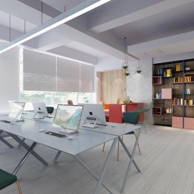 艺科设计|裕和甜品办公室设计,简洁的空间_3872422