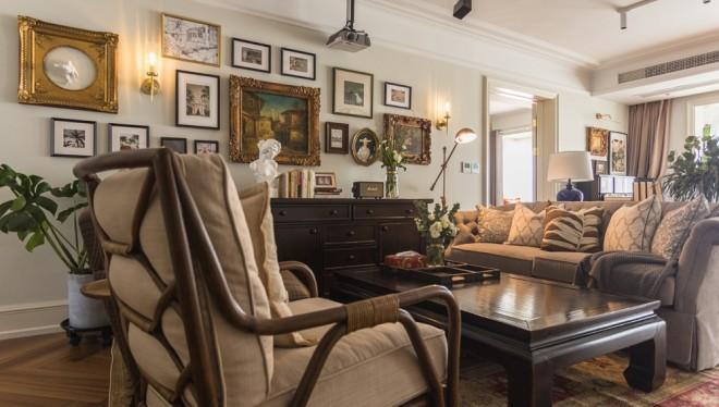 70W打造218㎡超优雅美式乡村风大宅