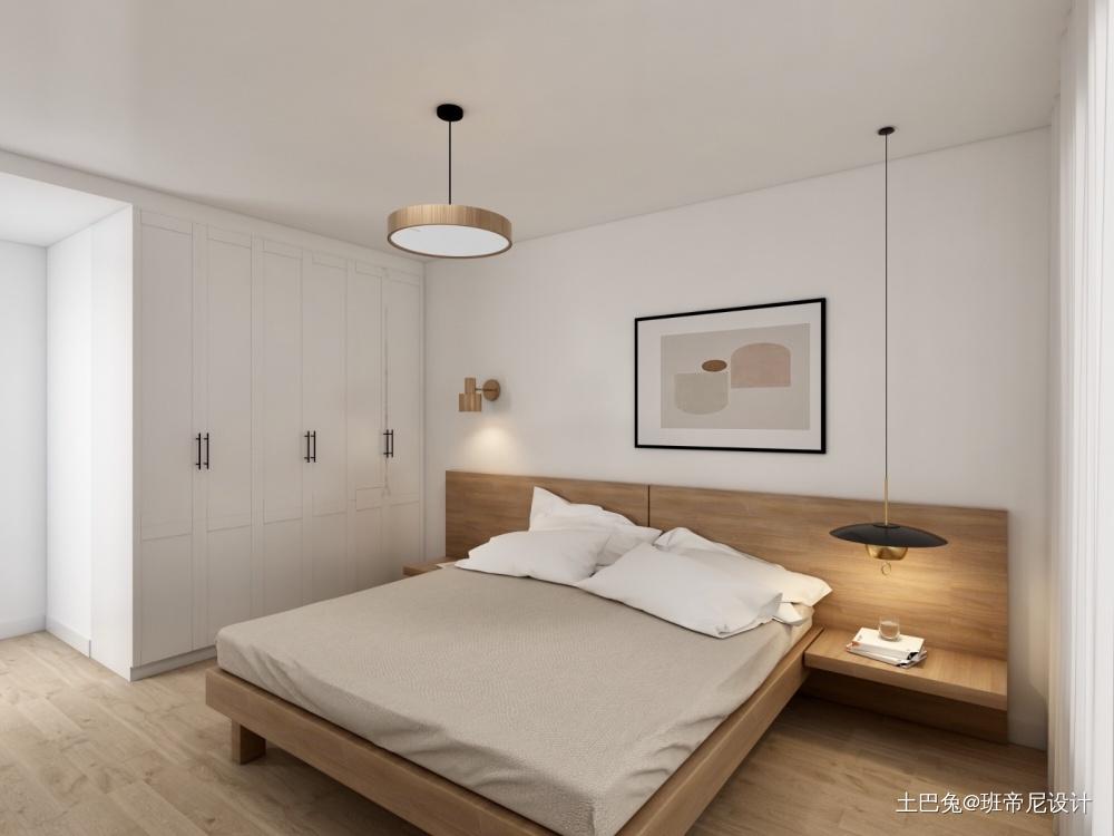 静谧卧室北欧极简卧室设计图片赏析