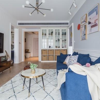 87㎡小兩室,北歐風營造的時尚精致小家_3878040