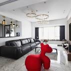 轻奢装修——客厅图片