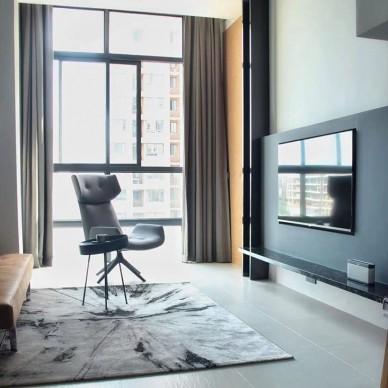 现代摩登温暖欧洲度假风-LOFT小公寓_3878118