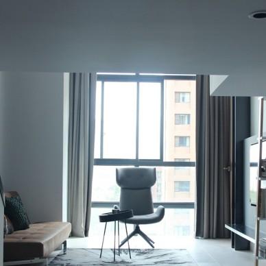 现代摩登温暖欧洲度假风-LOFT小公寓_3878117