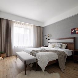 子洋设计丨消失的雨天 日系——卧室图片
