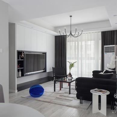 谁说黑白灰色系不可以打造出梦幻温馨的家_3881302