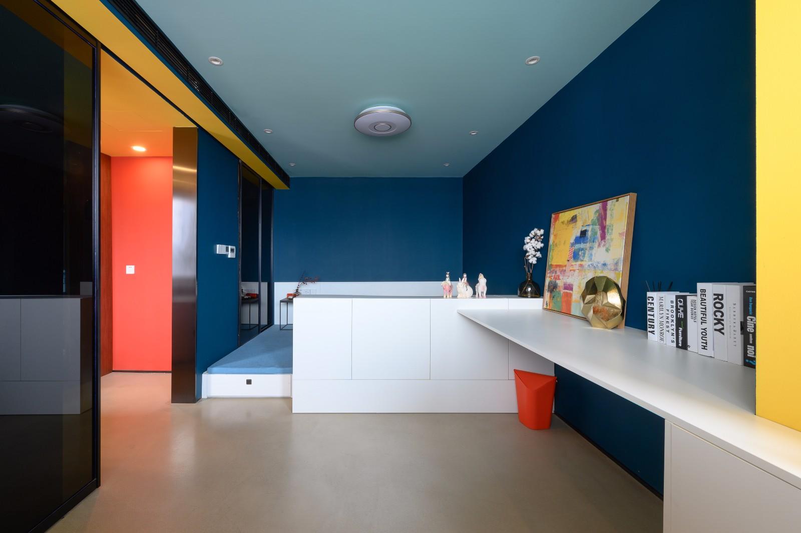 上海松柏公寓改造客厅现代简约客厅设计图片赏析