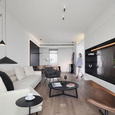 128平现代简约——客厅图片