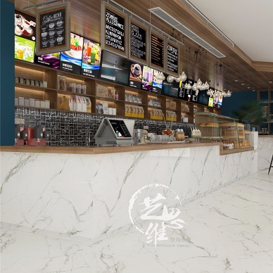 宁波海曙商务咖啡休闲中心-作品:一抹蓝_3885573