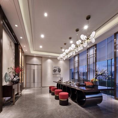 点石亚洲 | 新中式茶业会馆