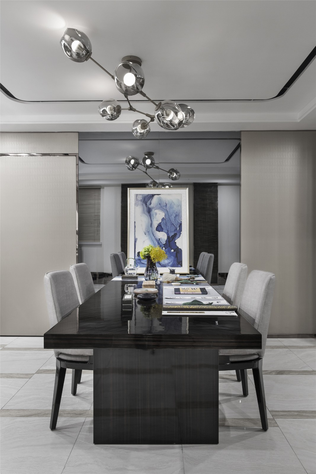 第二步:请为图片添加描述厨房现代简约餐厅设计图片赏析
