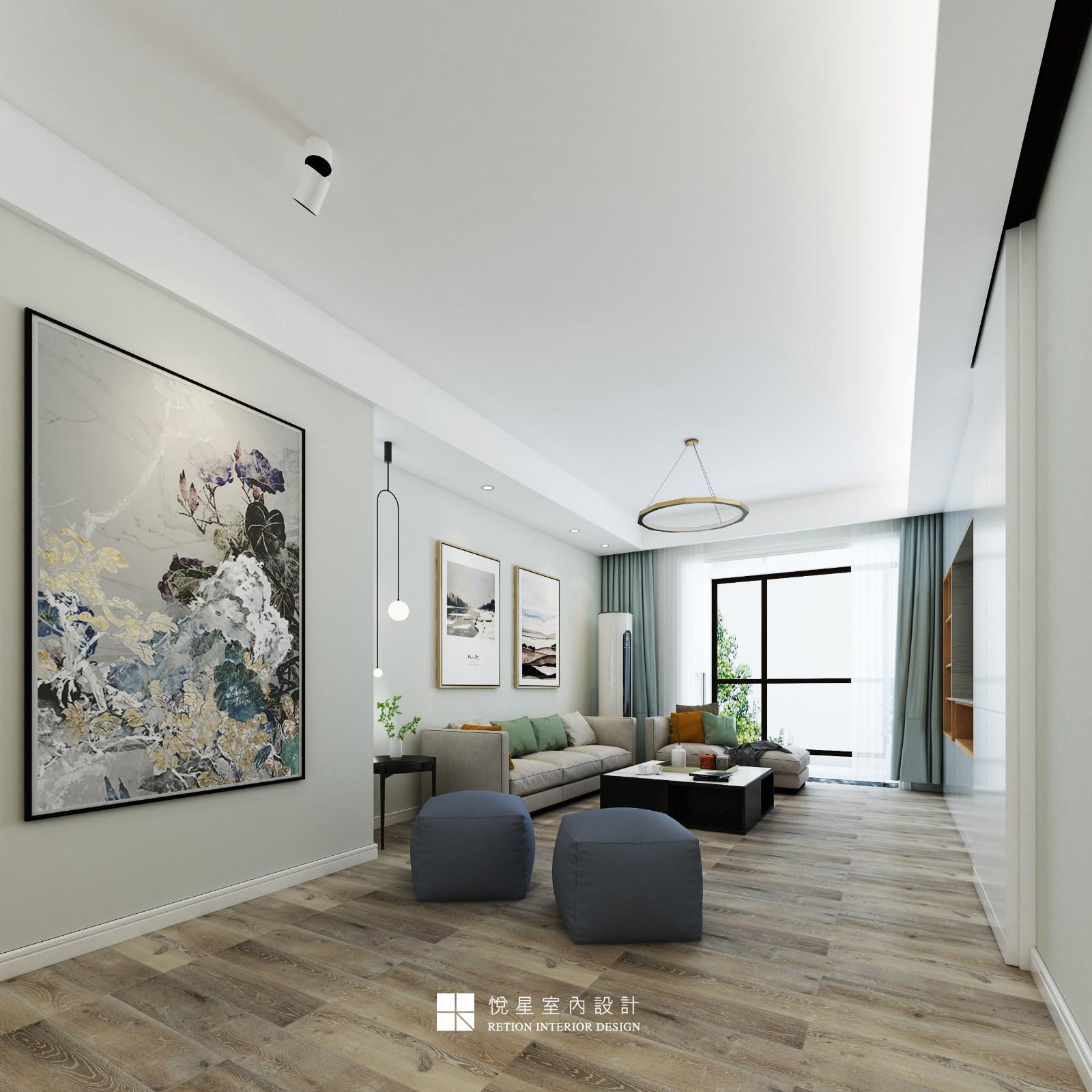 静秀园客厅现代简约客厅设计图片赏析