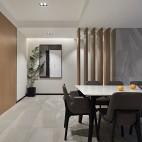 240㎡简约跃层,四口之家的理想生活——餐厅图片