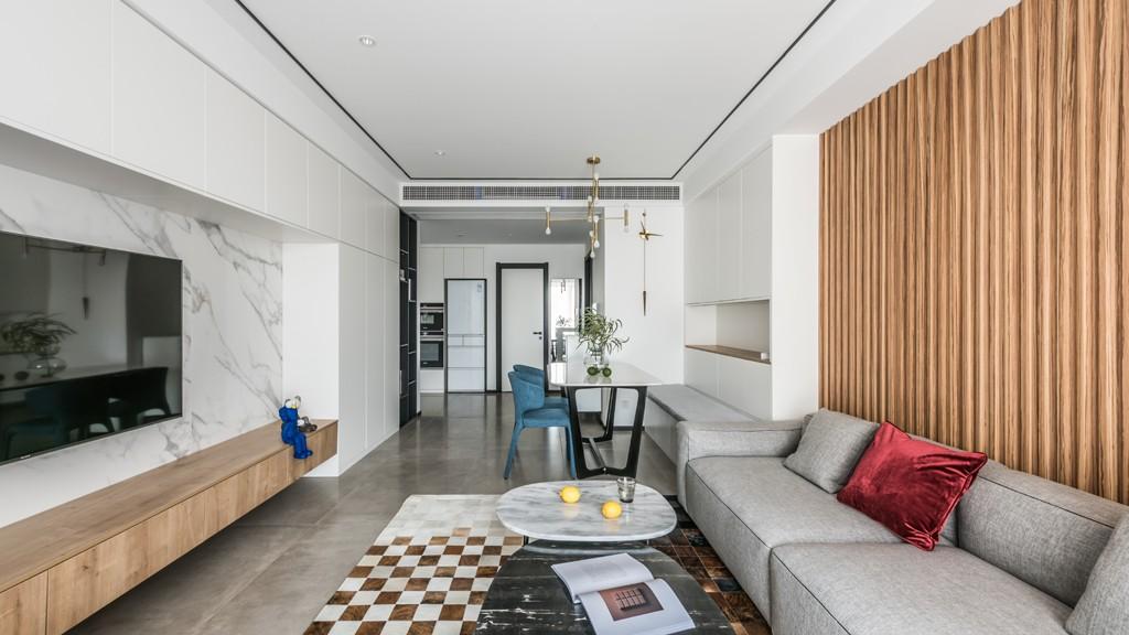 暖暖的新家客厅13图现代简约客厅设计图片赏析