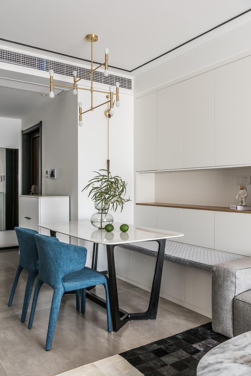 暖暖的新家厨房1图现代简约餐厅设计图片赏析