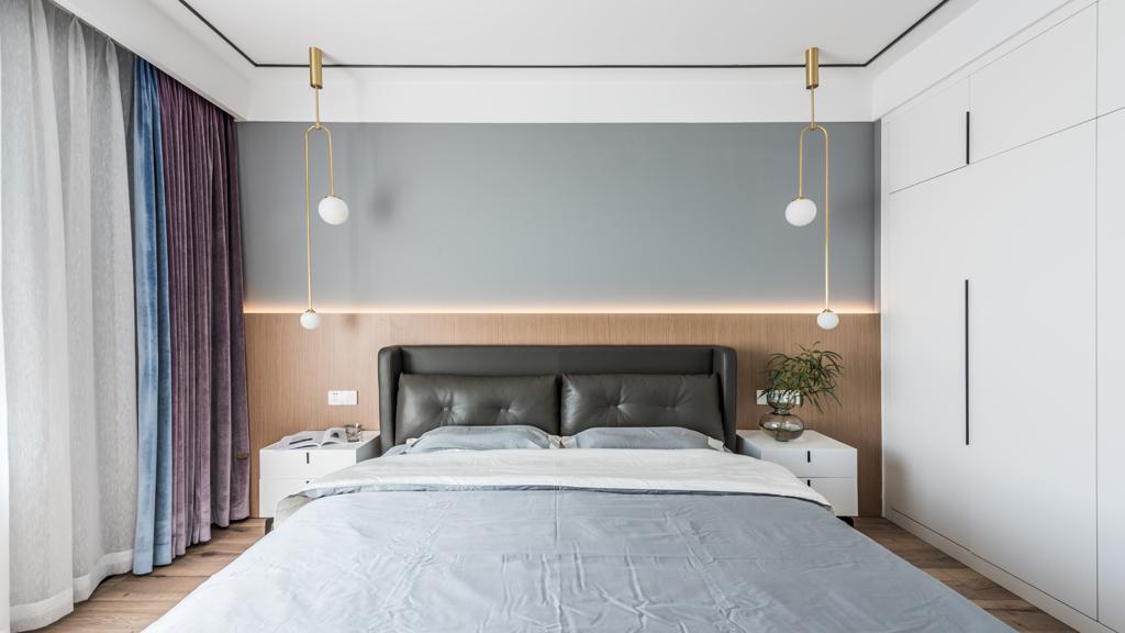 暖暖的新家卧室6图现代简约卧室设计图片赏析