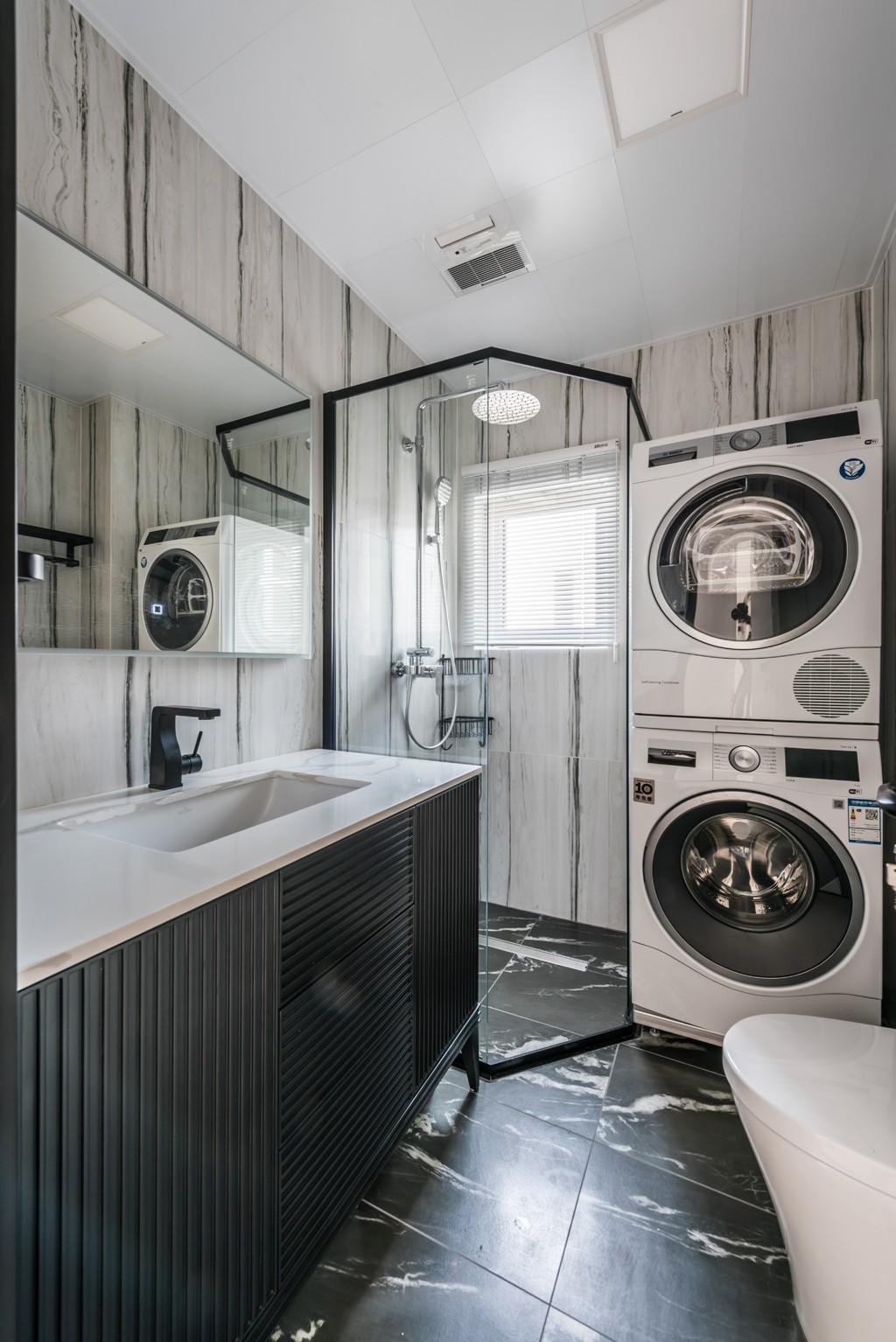 暖暖的新家卫生间2图现代简约卫生间设计图片赏析