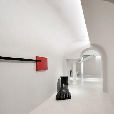 一个可以直播与烘焙的办公室——走廊图片