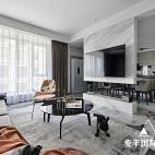 空间/展开 125m²现代新宅——客厅图片