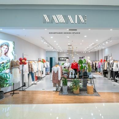 购物空间设计:NAWAIN——门口图片