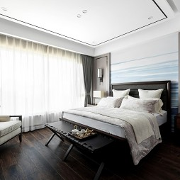 211平中式现代——卧室图片