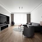 深白设计|黑白缄默,优雅的气质空间_3899293