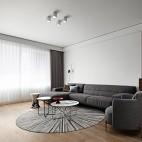 深白设计|黑白缄默,优雅的气质空间_3899295