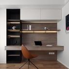 深白设计|黑白缄默,优雅的气质空间——书房图片