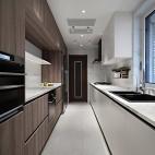 深白设计|黑白缄默,优雅的气质空间——厨房图片