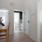 外置洗手盆营造室内中厅,打造甜蜜二人小家_3899636