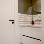 外置洗手盆营造室内中厅,打造甜蜜二人小家_3899639